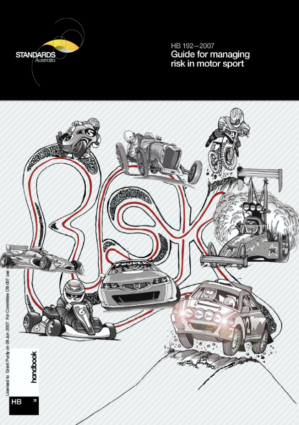 HB 192-2007 Guide for managing risk in motor sport