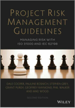 Front cover of Broadleaf's book on project risk management