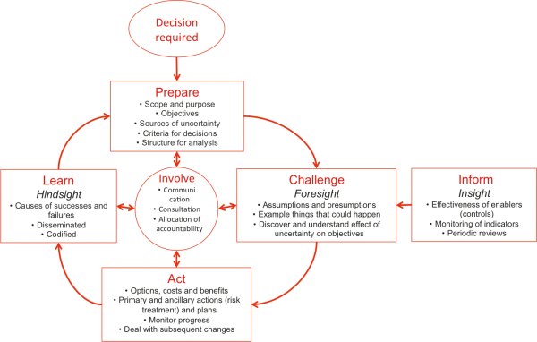 Alternative risk management process