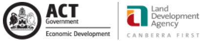 Land Development Agency ACT logo