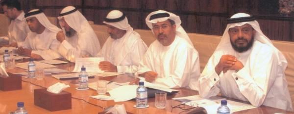 The senior management team at the ADGAS ERM workshop