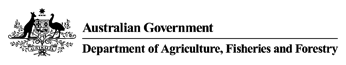 Department of Agriculture, Fisheries and Forestry