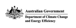 Logo for the Australian Government Department of Cliamte Change and Energy Efficiency