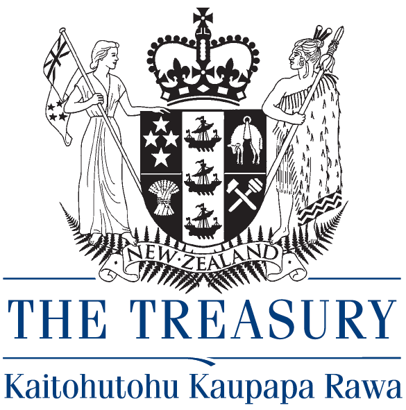 Logo for The Treasury, New Zealand